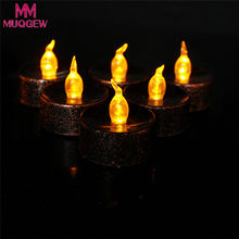 1PC Useful Flameless LED Candles Night Lights Lamp Battery Operated for Wedding Birthday Party Christmas Home Decor(China)