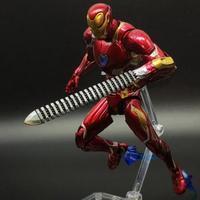 SHF Avengers: Infinity War IronMan 3 Armor MK50 MK47 Ironman VS Thanos Marvel Action Figure Spiderman Toy Model 16cm