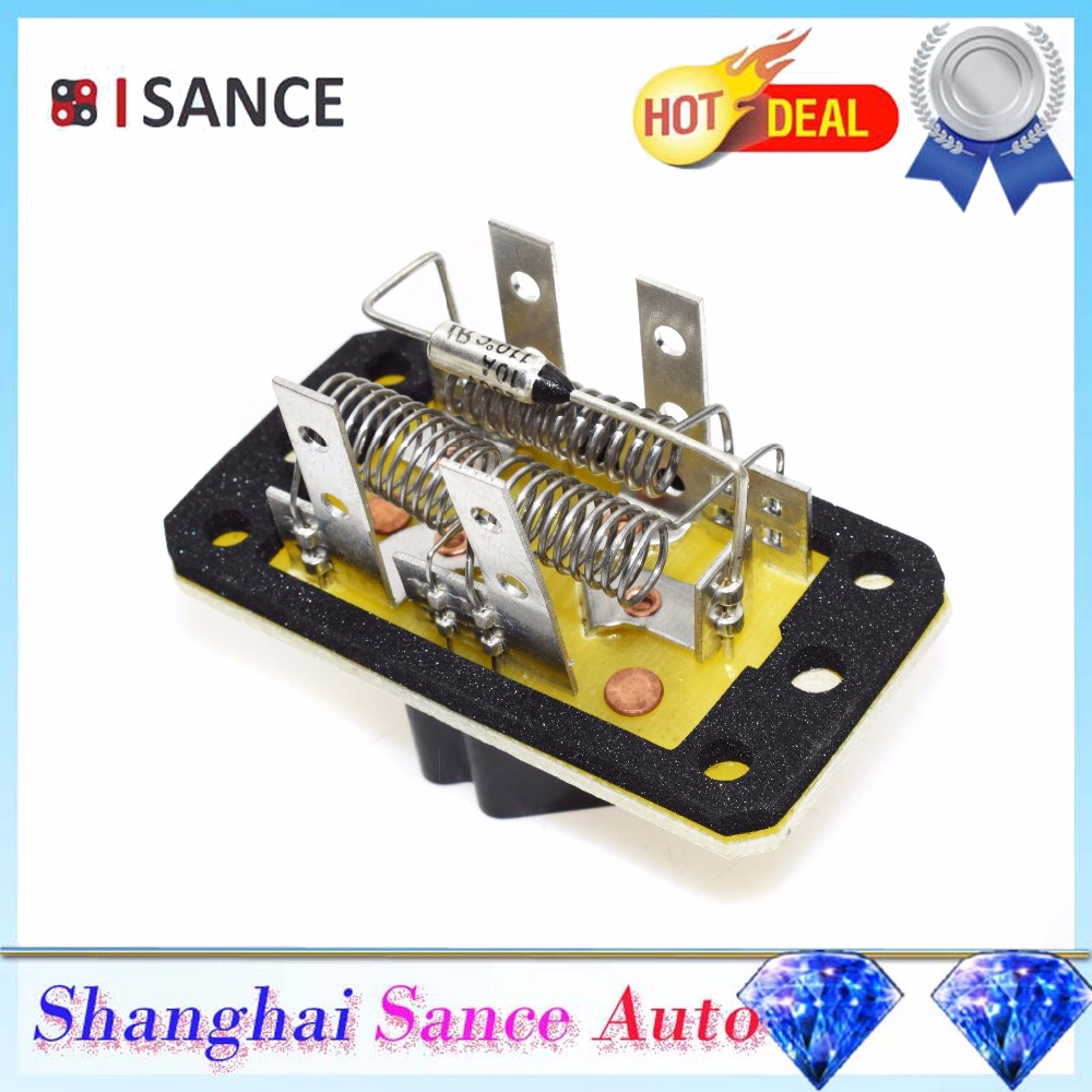 Isance Heater Blower Motor Resistor 4l3z 19a706 Aa 973015 For Ford Control Module 2006 On F150 Escape Excursion