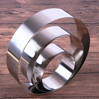8pcs/set Latest 3.5 10 inches round shape mousse ring cake mold stainless steel cheese baking tools for cakes ZA6386