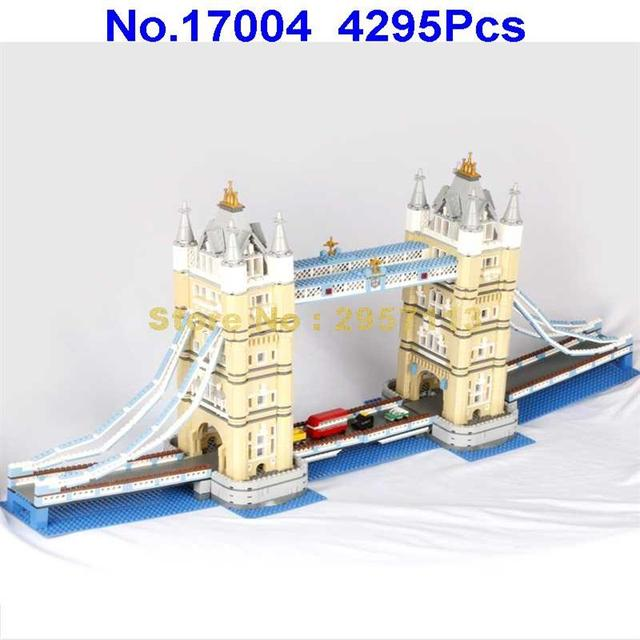 17004 4295pcs London bridge Lepin Building Block Compatible 10214 Brick Toy
