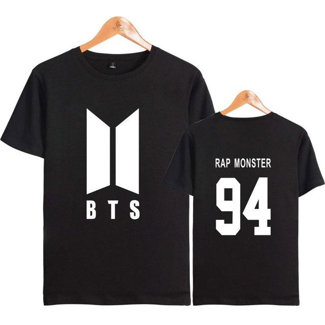 BTS Kpop Hip Hop Unisex Cotton Short Sleeve T-Shirt