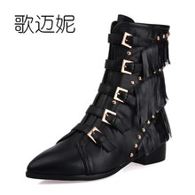 womens winter boots women ankle boots botas mujer gothic shoes bota botte femme winter shoes woman boots schoenen vrouw laarzen