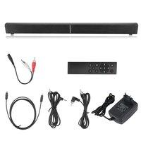 Wall Hanging Bluetooth Subwoofer LP 09 TV Sound Box Stereo Sound Bar Portable Home Speaker Hands Free Soundbar EU Plug