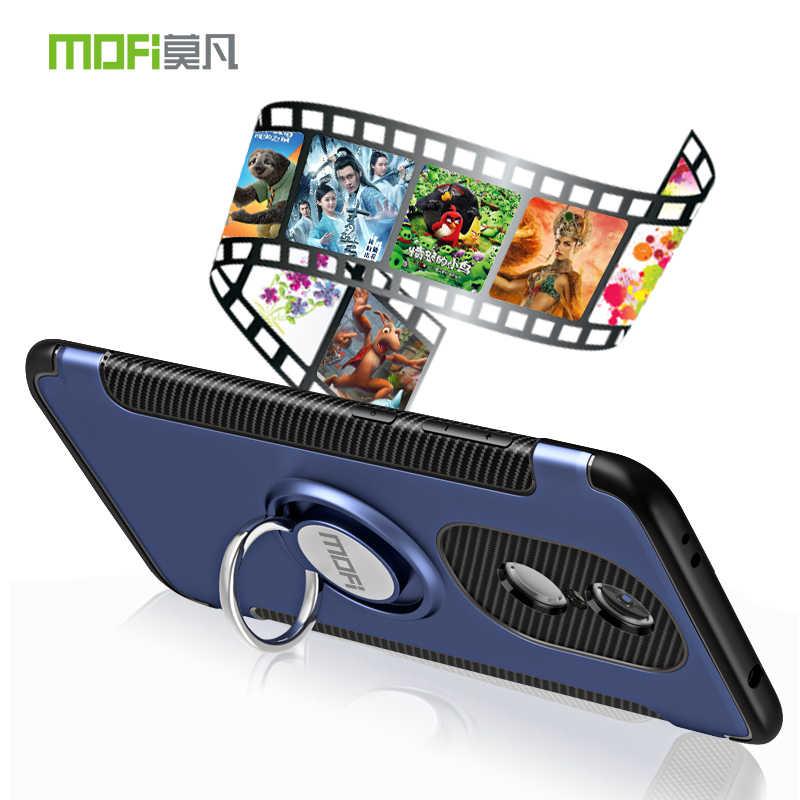 MOFi чехол для Xiaomi Redmi Note 4X5,5 дюймов Магнитный всасывающий Автомобильный держатель Подставка палец кольцо держатель Крышка для Redmi версия 4 X Чехол