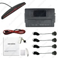 New 4-Sensor Car LED Display Parking Sensor Reverse Backup Radar Aid System # J-2653