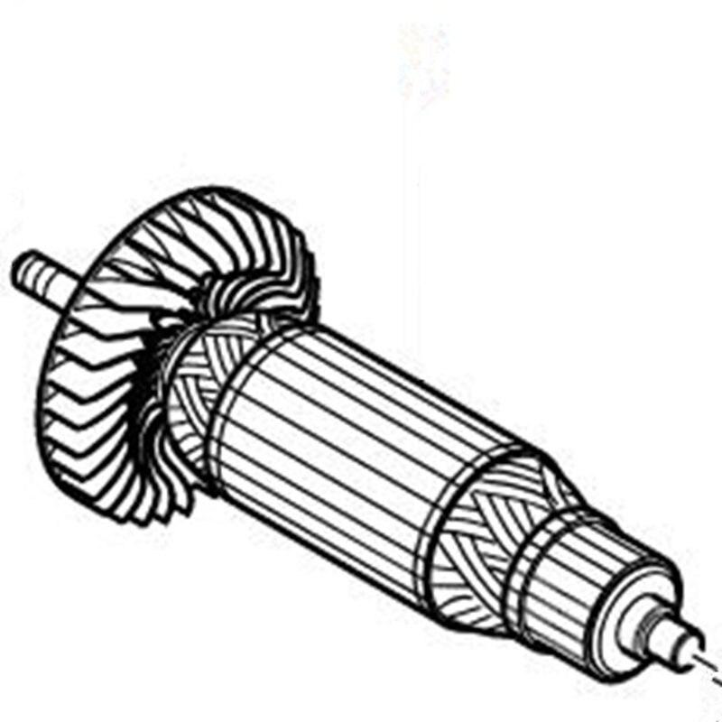 Armature 517528-6 220-240 V Rotor pour Makita 6951Armature 517528-6 220-240 V Rotor pour Makita 6951