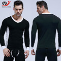 Homme Brand Clothing Rashguard Fitness Clothing Sexy Men Long Sleeve Men Clothes Sport Cotton compression