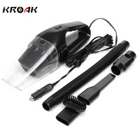 DC 12V 120W Portable Super Suction Handheld Vacuum Dirt Cleaner Wet Dry Vacuum Cleaner For Vehicle Car Handheld Home Office