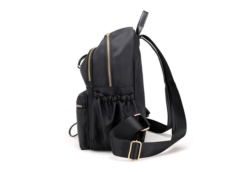 Herald Fashion Backpack Women Leisure Back Pack Korean Ladies Knapsack Casual Travel Bags for School Teenage Girls Bagpack