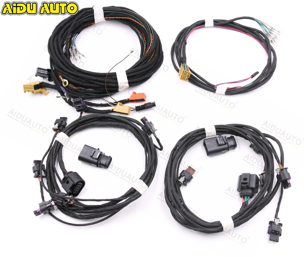 USE FOR Golf 6 Front Rear Auto Parking Assist 12K PlA 2 0 Upgrade OPS Install