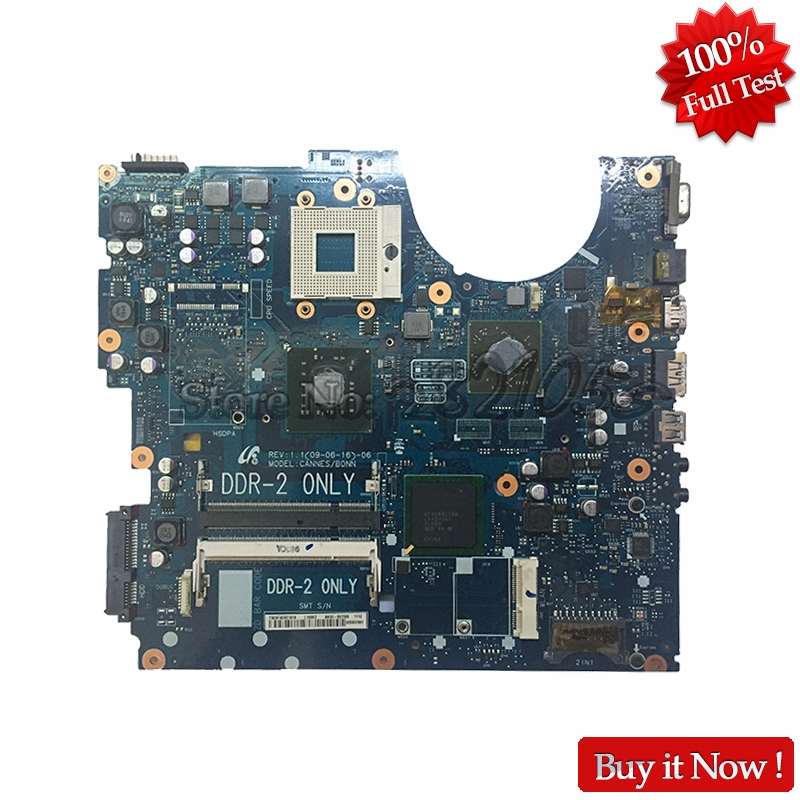 NOKOTION for samsung R518 laptop motherboard BA92-05598A BA41-01061A PM45 HD4500 DDR2 nokotion sps v000198120 for toshiba satellite a500 a505 motherboard intel gm45 ddr2 6050a2323101 mb a01
