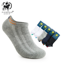 Casual Calcetines Hombre New Spring And Summer Pier Polo Breathable Mesh Men Socks Pure Color Beam Waist Towel Bottom Wholesale