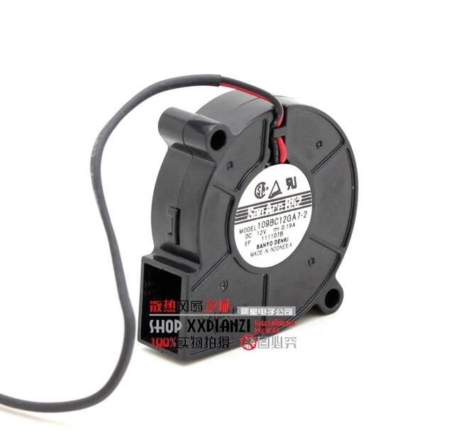 109BC12GA7-2 5015 0.19A 5 CM 12 V ventilador turbo ventilador