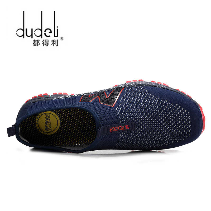 86516f1e3 ... DUDELI 2018 Hot Sales Fashion Light Breathable cheap Lace-up Men Shoes  Human Race Casual ...