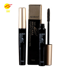 High Quality ALOBON Waterproof curl Eyes Makeup Extension Lengthing Long-lasting Black Mascara Volume Curling Black