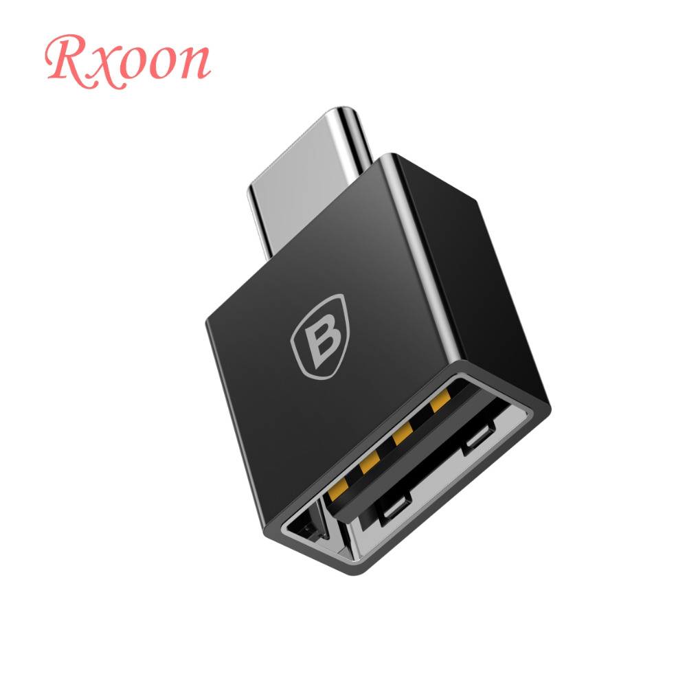Baseus Type-c to usb Adapter Converter for apple MacBook Pro Samsung huawei xiaomi notebook USB-C charger Android phone tablet 8