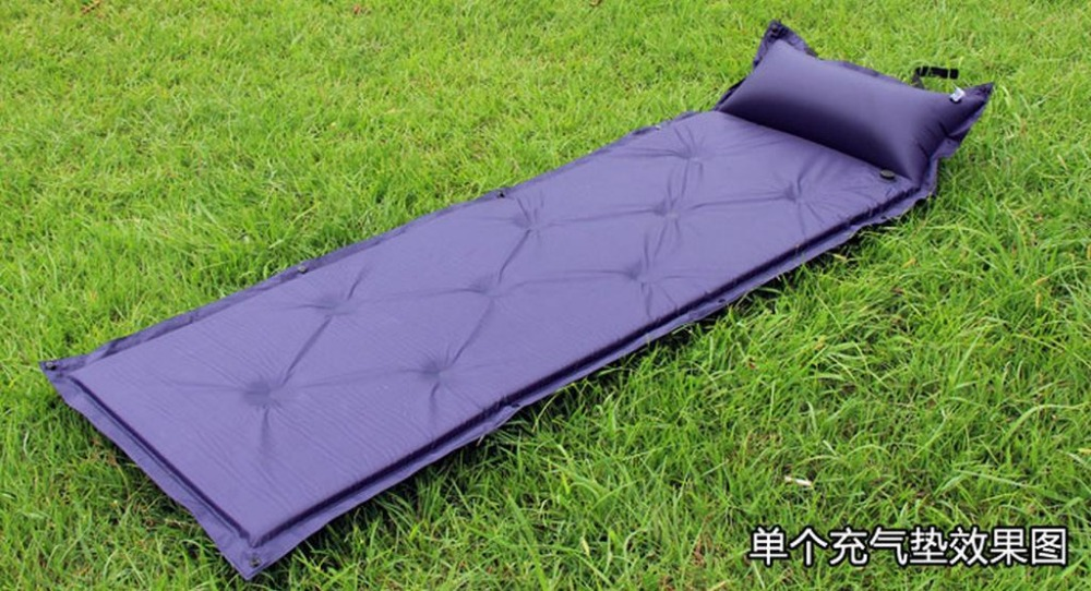Camping Mat Sleeping Pad Outdoor Gear Automatic Inflatable Mattress With Pillow Single Person Tent Mats 91735 In From Sports