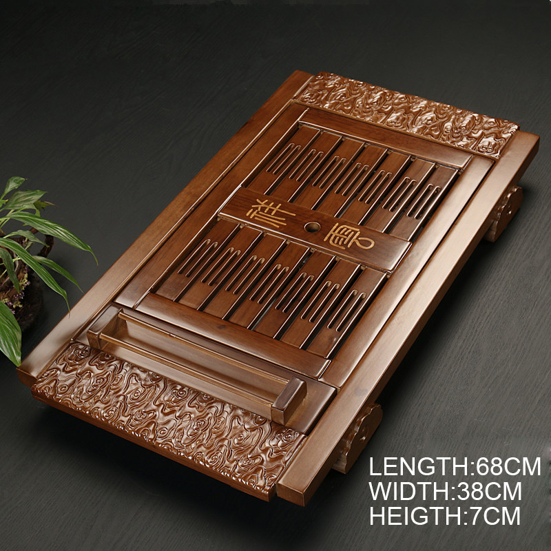 Traditional Solid Wooden Gong Fu Tea Table 2