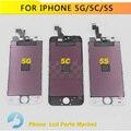 AAA Para o iphone 5 5g lcd iPhone 5S Tela lcd Display Touch lcd iPhone 5c com Digitador de Vidro + Ferramentas Gratuitas grátis