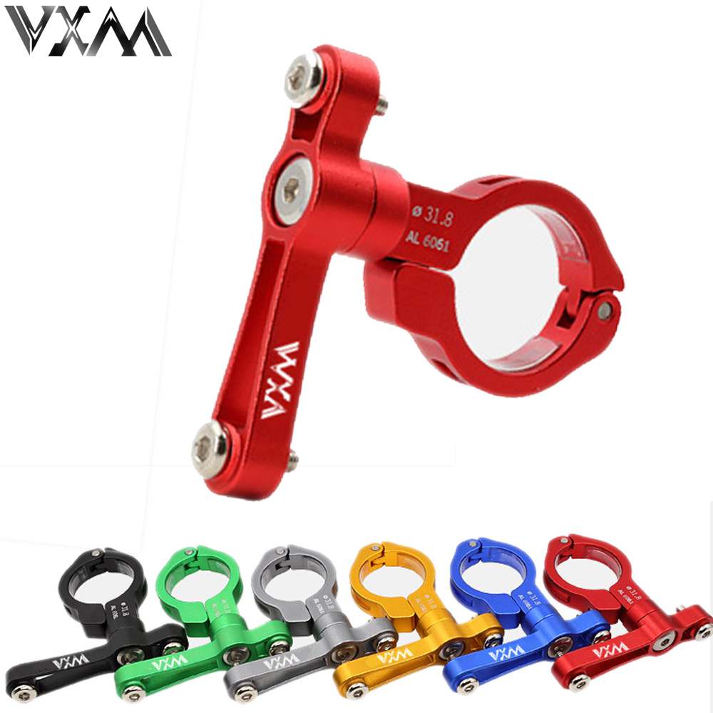VXM Ultralight Bike Water Bottle Holder Bike Rack Bottle Bracket Seat Post Mounted Free Rotation Bar Mount Bicycle Water Cage metal bike bicycle saddle rail dual water bottle holder bracket red
