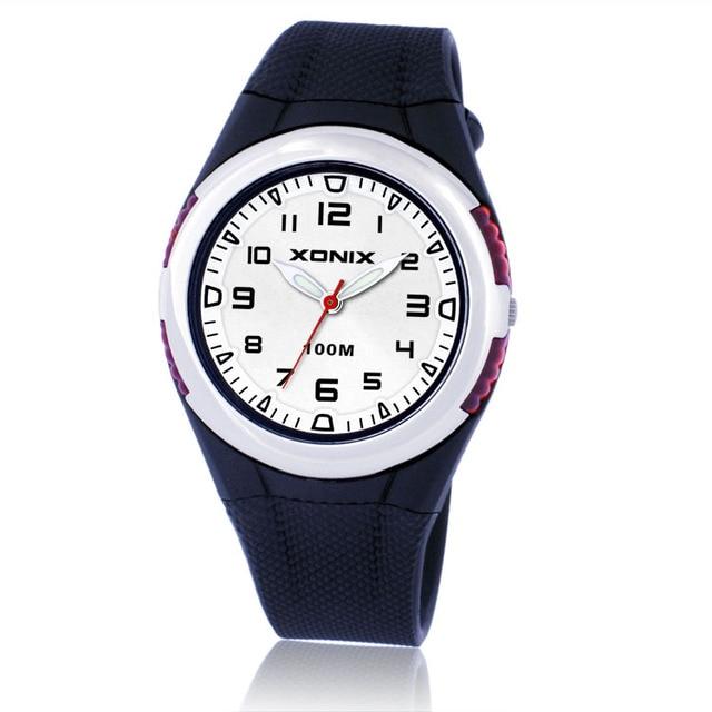 7e7d6d4605c 2017 XONIX Moda Feminina Relógios Das Mulheres Relógio Esportivo À Prova D   Água 100 m