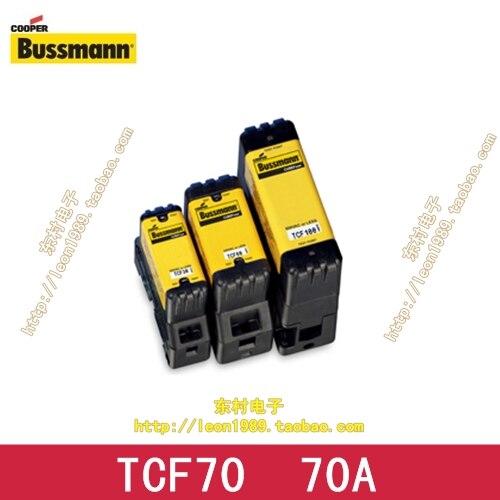 US imports TCF70 70A 600V Cooper Bussmann fuse slow -blow fuse delay us bussmann fuse tcf45 tcf40 tcf35 35a tcf30 600v fuse