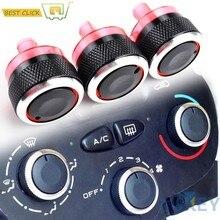 Klimaanlage Control Schalter knöpfe Dials Tasten Für Peugeot 206 206 207 Für Citroen C2 Xsara Picasso AC Heizung Wärme klima