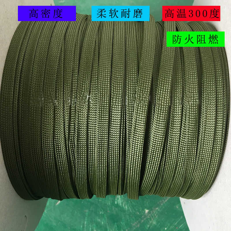 detail feedback questions about 300c 4 12mm soft aramid high temperature  cable sleeve military wiring harness wear resistant insulation fire  retardant line