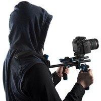 YLG0102H DSLR Shoulder Mount Support Rig Double Hand Handgrip Holder Set For All Video Cameras and DV Camcorders
