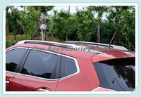 Алюминий OEM Стиль внедорожник крыше автомобиля багажа багажник бар для Nissan X Trail, PDF 2014 2015 2016 2017 2018 Быстрая доставка по EMS