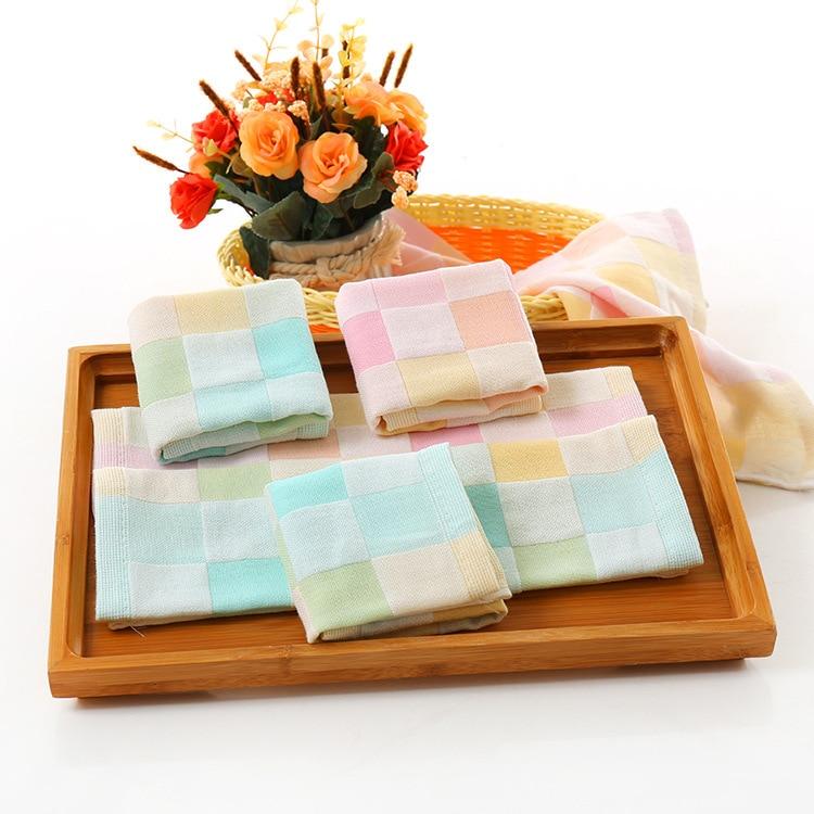 Cotton Gauze Box Color Small Towel Towel Infant Slobber