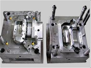 Custom Made Plastic Injection Tooling for Bucket Base plastik injection tooling for plastic handle