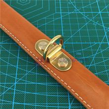 Dulles bag accessories copper bridge handle optional D hardware manual leather ring