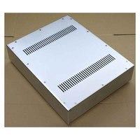 Caixa Caso Amplificador 430*92 KYYSLB DIY * 340 milímetros WA52 Alumínio Completa Chassis do Amplificador de Tubo Pré-amplificador caso Amp Amplificador DIY