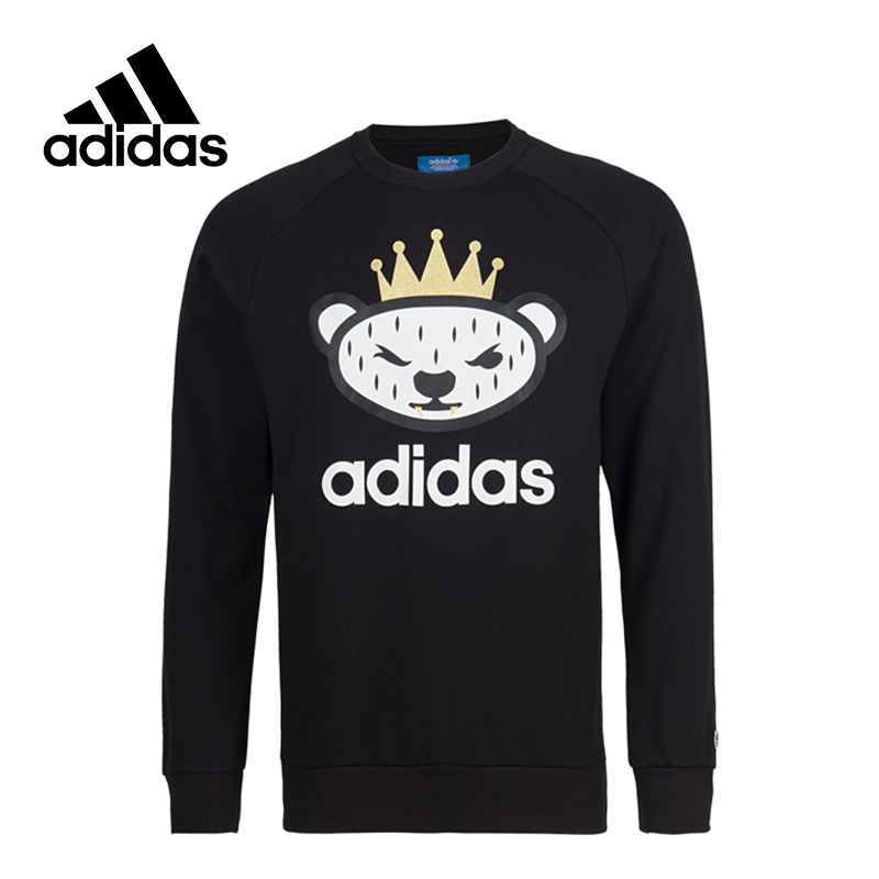 Adidas New Arrival Authentic Originals Nigo Men's Breathable Leisure Pullover Sportswear AB1547 adidas new arrival official ess 3s crew men s jacket breathable pullover sportswear bq9645