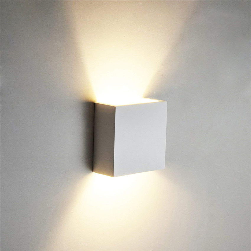 Cube COB LED Indoor Lighting Wall Lamp Modern Home Lighting Decoration Sconce Aluminum Lamp 6W 85-265V For Bedside Aisle