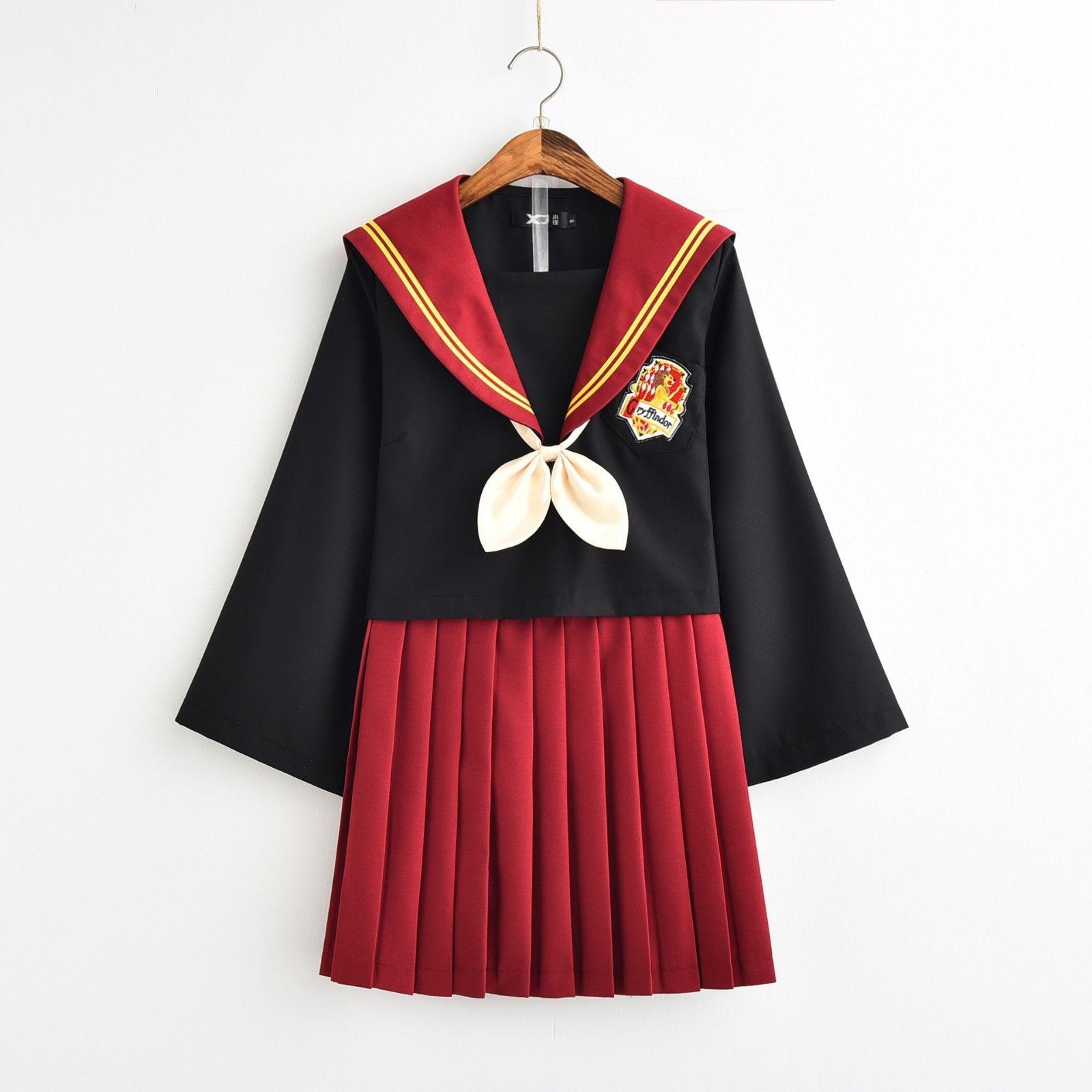 Harri Potter gryffondor étudiant école uniforme marin costume JK uniforme Cosplay