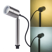 Outdoor waterproof LED Flood Light GU10 Projector Reflector Waterproof 110V 220V Led spike led Floodlight Spotlight lawn lamps