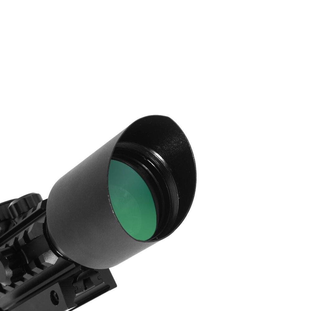 Image 4 - LUGER M9 3 10x42EG тактическая оптика рефлекторный прицел Пикатинни Вивер крепление красный зеленый точка охотничьи прицелы с красным лазером-in Оптические прицелы from Спорт и развлечения on AliExpress - 11.11_Double 11_Singles' Day