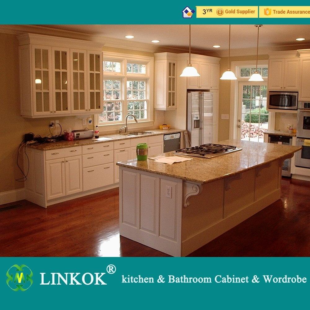 linkok meubles en gros pas cher chine stores usine directement en bois massif armoires de cuisine pour le marche canada