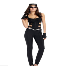 Sexy Women Police Costume Halloween Adult Mysterious Secret Service Cosplay Clothing
