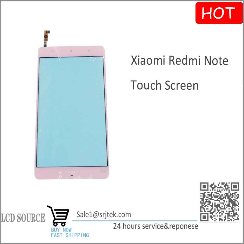 Pink Color for Xiaomi Redmi Touch Screen Digitizer Sensors Outer Glass Replacement Parts Free Shipping