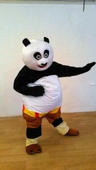 BING RUI CO formato Adulto Kung Fu panda Del costume Della Mascotte Kung Fu Panda Del costume Della Mascotte Kung Fu panda