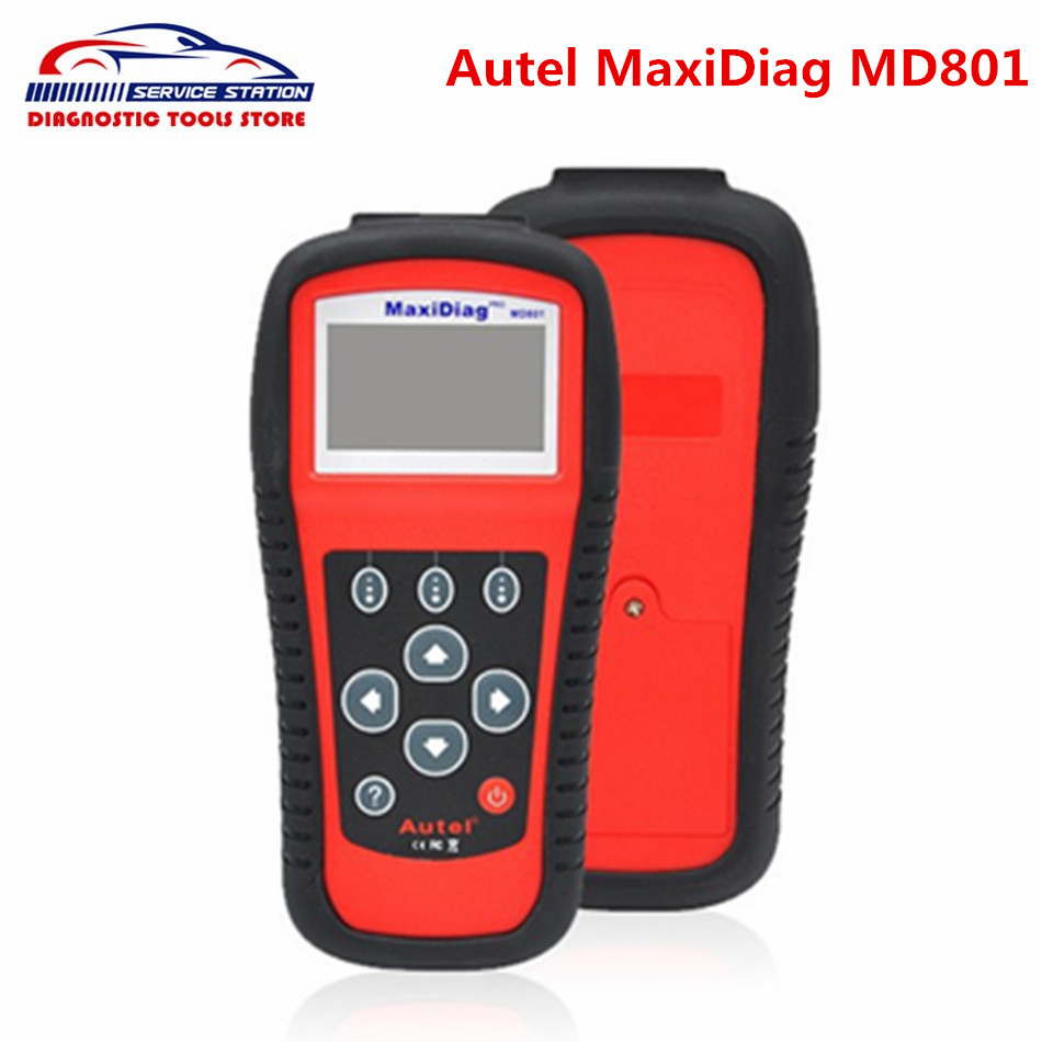 Top Quality Autel Mxiadiag pro MD801 Multi-Functional Scan Tool MaxiDiag Pro 4 in 1 Code Scanner MD801 autel md801 pro 4 in 1 code scanner jp701 eu702 us703 fr704 maxidiag pro md 801 code reader