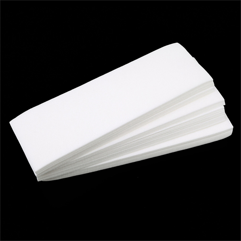 100pcs Removal Nonwoven Body Cloth Hair Special Thick Non-woven Depilatory Wax Hair High Quality Removal Wax Paper Wax Strip
