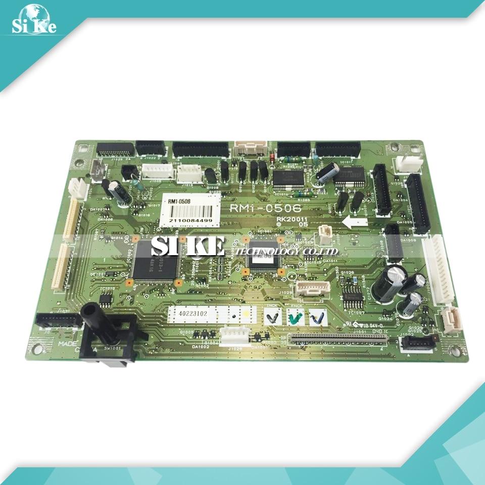 ФОТО LaserJet Printer DC Control Board For HP 3700 RM1-0506 3550 3500 RM1-0510 HP3700 HP3550 HP3500 DC Controller Board