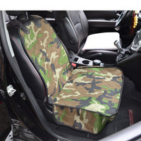 2017 New Cheap Universal Camouflage Car Front Single Seat Cover For Dog Pets Waterproof Seat Bench