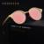 Marca polarizada óculos de Sol Do Olho de Gato cateye Mulheres Lady vintage retro Revestimento do Espelho De Alumínio Lente Plana Óculos de sol luneta de soleil