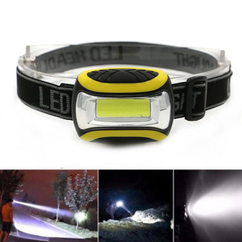 SOLOLANDOR Mini COB LED Headlamp 4 Modes Waterproof Headlight Head Flashlight Torch Lanterna For Outdoor Camping Night Fishing